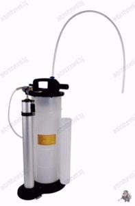 Помпа за източване на масло и спирачна течност, ръчна и пневматична 9л.